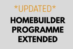 HomeBuilder Grant Update